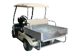 Fold Down Aluminum Rear Seat Kit with Cargo Box
