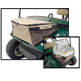 Cooler on Golf Cart Front
