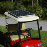 Universal Golf Cart Solar Panel, 105-440  watts.