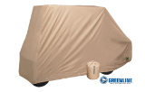 Storage Cover for Cart with Short Top & Rear Seat/Cargo Box