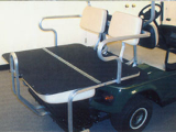 Fold Down Aluminum Rear Seat Kit