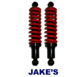 Heavy Duty Coil Springs on Rear Shocks, Set 2, Yamaha G2/G9 G8
