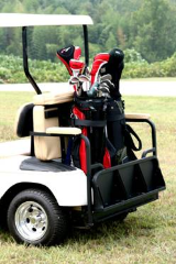 Fold Up Golf Cart Steel Rear Seat Kit
