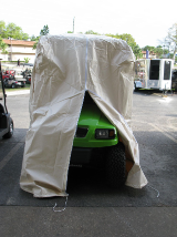 Golf Cart Storage Cover for Lifted or Off Road 2 & 4 Passenger Carts