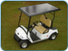 Solar Panel as the Golf Cart Top, 235 watts