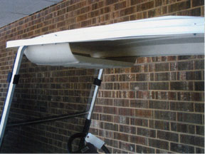 Golf Cart Storage Tray Overhead Under Seat Mounted To