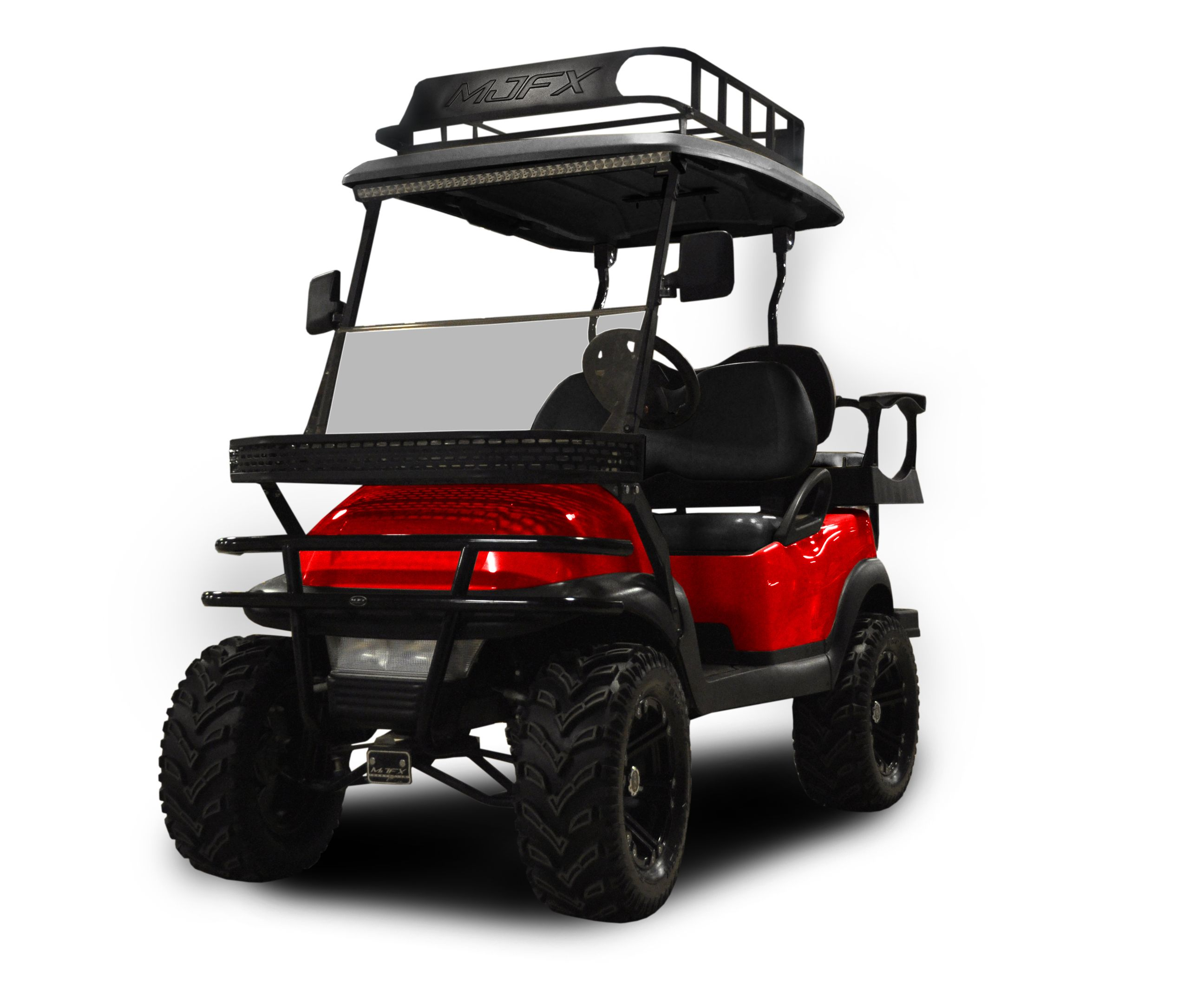 Captivating Golf Cart Roof Rack