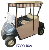 Track Style Enclosure for 2 & 4 Passenger Golf Carts