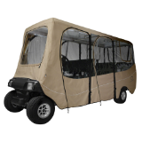 Golf Cart Enclosure for a 6 Passenger Cart