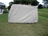 Golf Cart Storage Cover, Deluxe Extra Strong