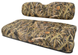 Golf Cart Seat Covers - Camouflage Cordura/vinyl