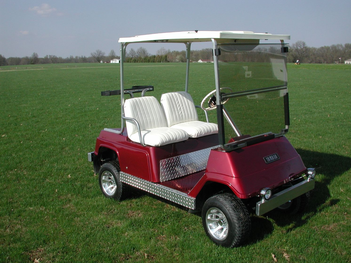 Yamaha G Golf Cart Top