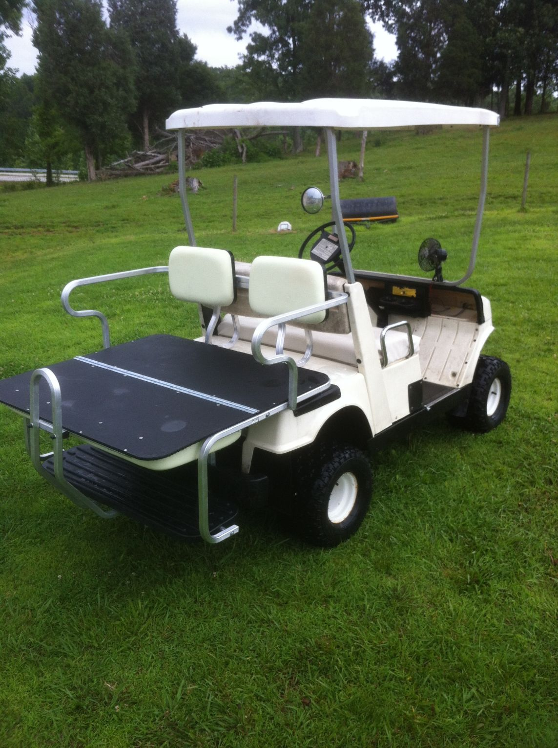 Golf Cart Rear Seats | SALE ON FOLDDOWN | flip up for golf clubs Back With Forward Facing Seat Golf Carts Html on
