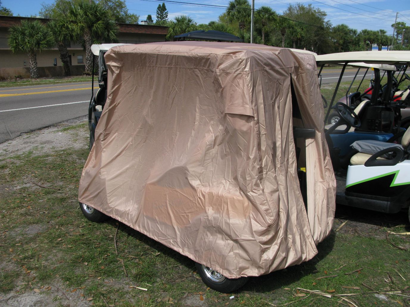 Golf Cart Storage Covers 2 4 6 Pass Short Top Rear